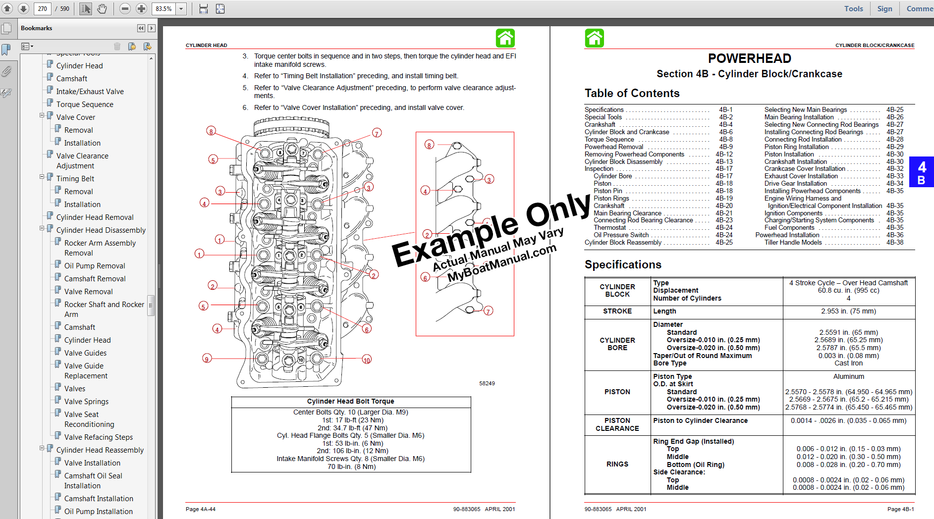 wiring diagram ... 2000-2004 Yamaha Outboard Motor Service Manual |  MyBoatManual wiring diagram .