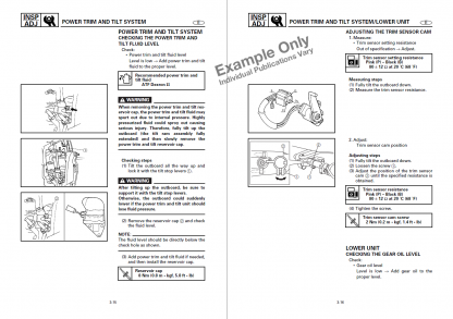 service manual example - myboatmanual.com
