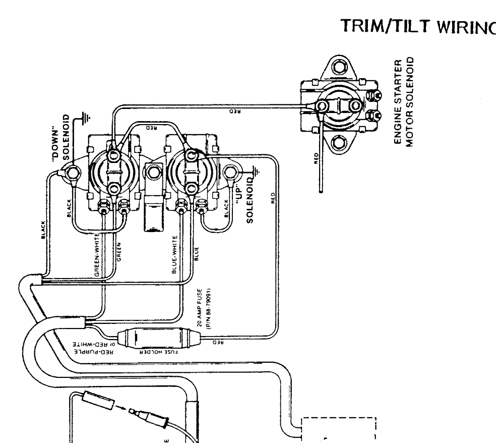 40 hp mariner wiring diagram