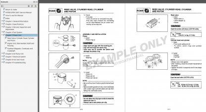 1987-1991 yamaha wave runner wr500 wr650 service manual | myboatmanual  marine service manual pdf downloads