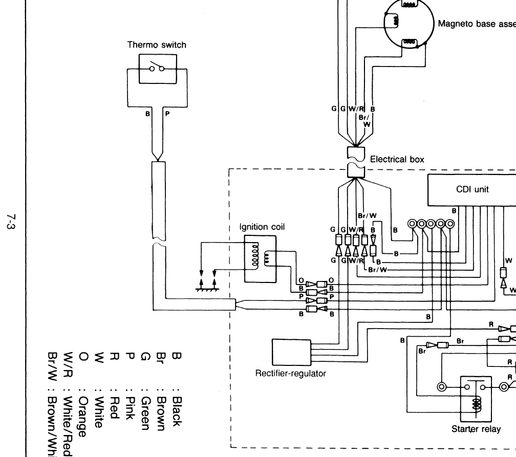 yamaha 650 superjet wiring diagram wiring diagram